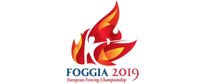 Logo Kadetten-Junioren-Fecht-EM Foggia 2019