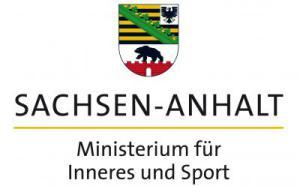 Logo Ministerium für Inneres und Sport, Land Sachsen-Anhalt